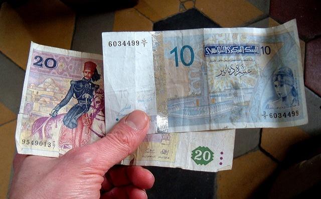 Как выглядят деньги в Тунисе: 30 динаров