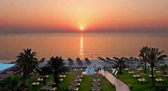 Palmyra beach Hotel недорогой хороший отель 3* в Тунисе