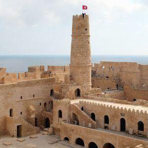 Крепость Рибат в Монастире - главная достопримечательность в городе