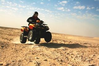 Экскурсия на квадроциклах из Хаммамета
