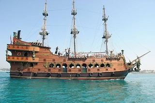 Экскурсия прогулка на пиратском корабле в Хаммамете
