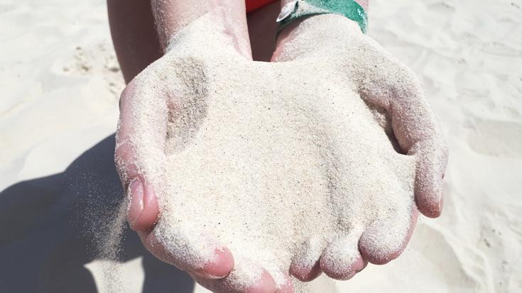 Мелкий песок на пляже в отеле Thalassa Sousse 4*