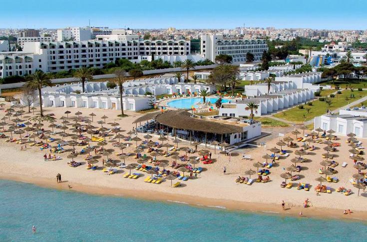 Пляж в отеле Thalassa Sousse 4*